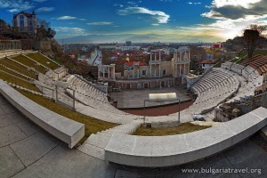 Ancient theatre Plovdiv - Image courtesy of bulgariatravel.org